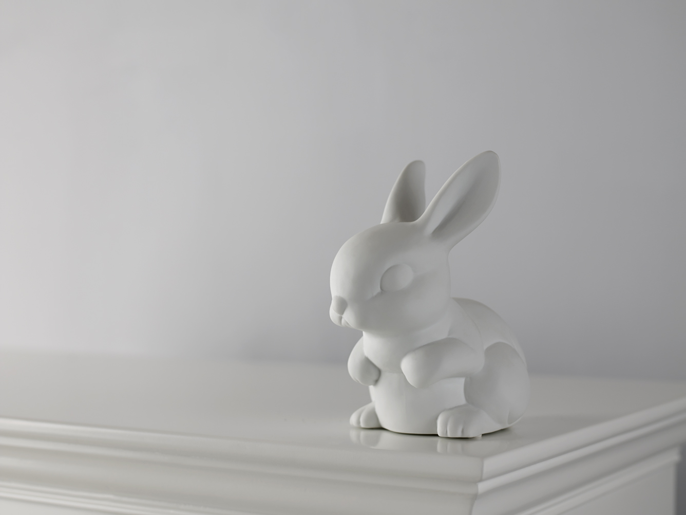 low res bunny light off